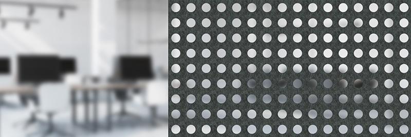 Akustyczne panele ażurowe Moira Screen N Dot