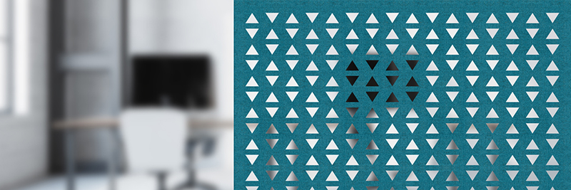 Akustyczne panele ażurowe Moira Felt Air
