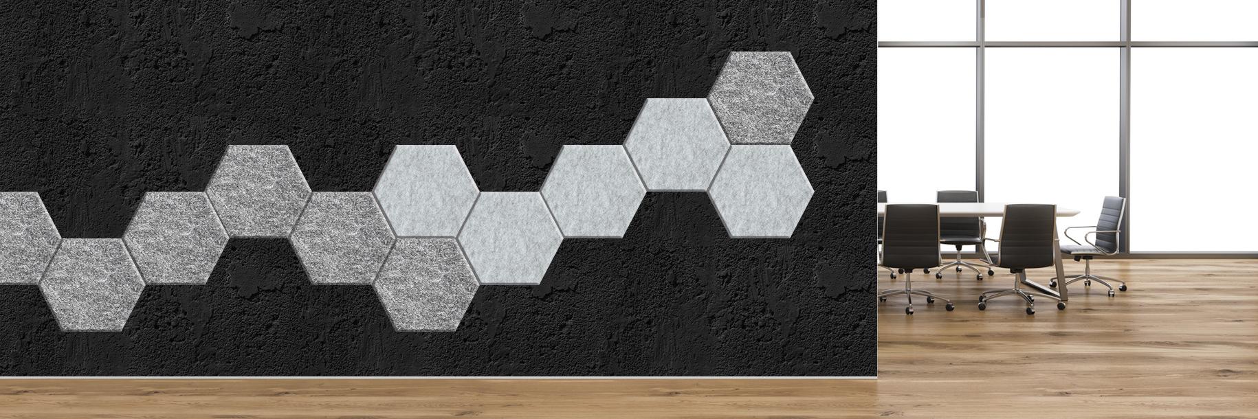 Akustyczne Panele Scienne Lazzio Heksagon