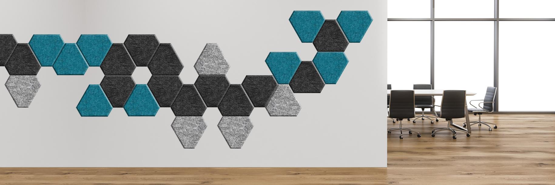 Akustyczne panele ścienne Lazzio Triangle S