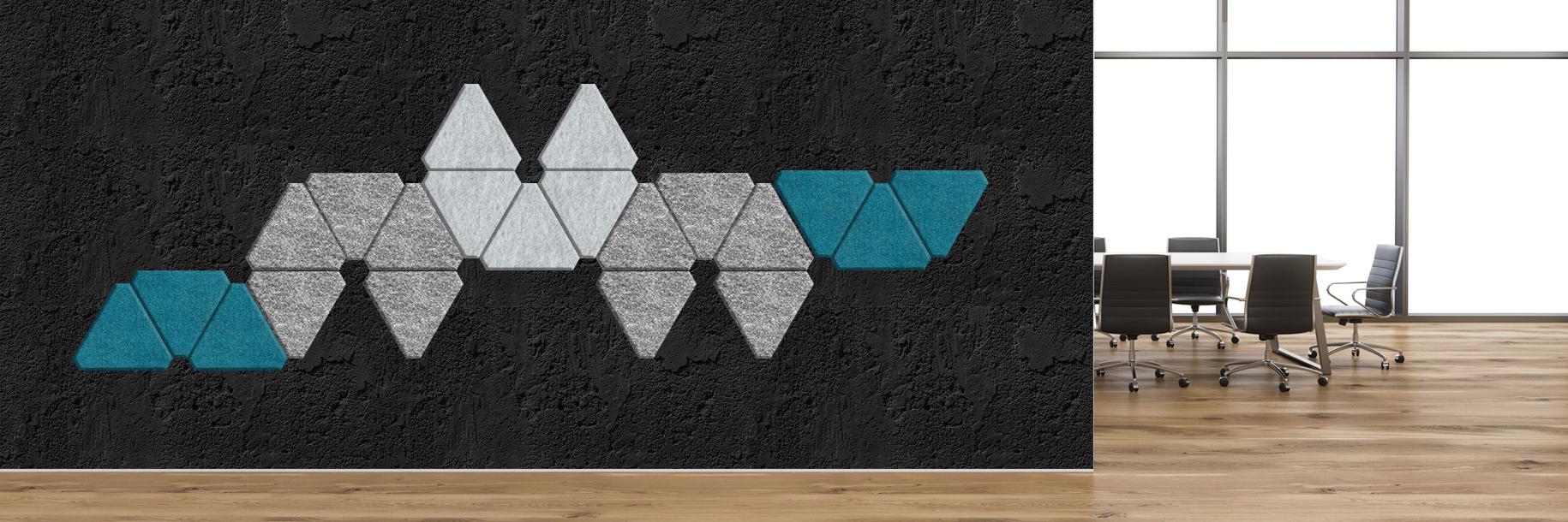 Akustyczne panele ścienne Lazzio Triangle L